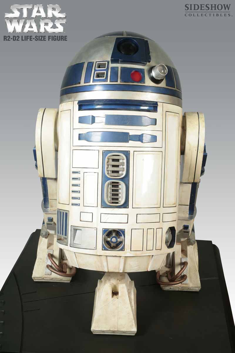 STAR WARS: R2-D2 Life size figure 2215_press03