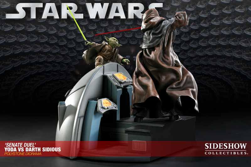 STAR WARS: YODA VS DARTH SIDIOUS Diorama 200017_press01