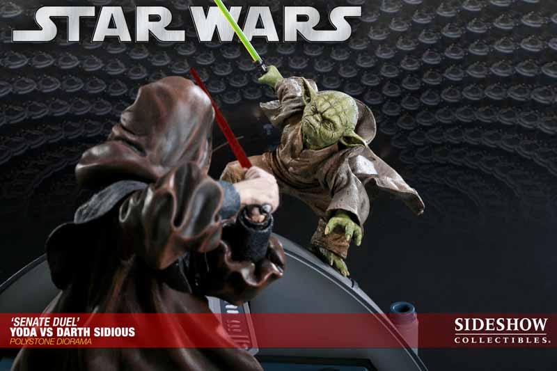 STAR WARS: YODA VS DARTH SIDIOUS Diorama 200017_press02
