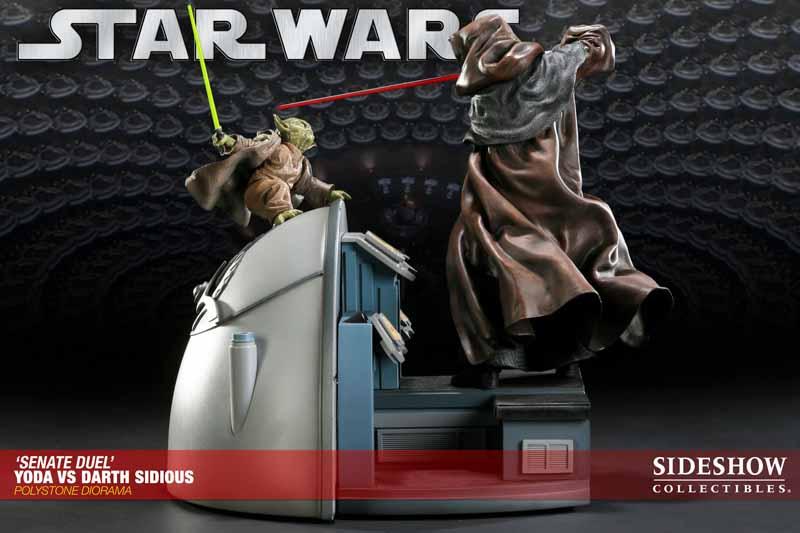 STAR WARS: YODA VS DARTH SIDIOUS Diorama 200017_press04