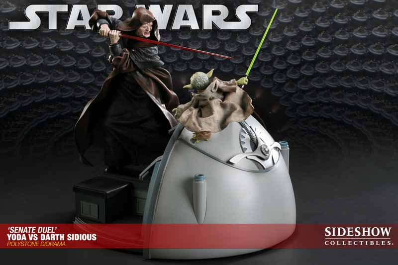 STAR WARS: YODA VS DARTH SIDIOUS Diorama 200017_press06