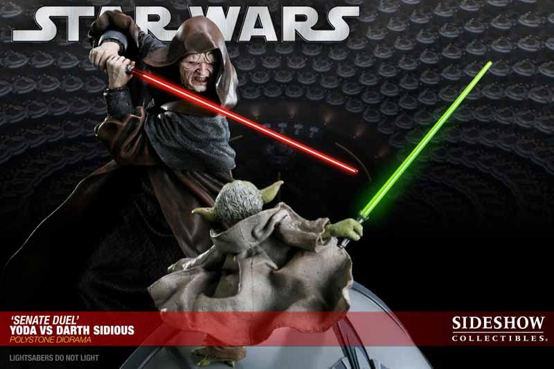STAR WARS: YODA VS DARTH SIDIOUS Diorama 200017_press11