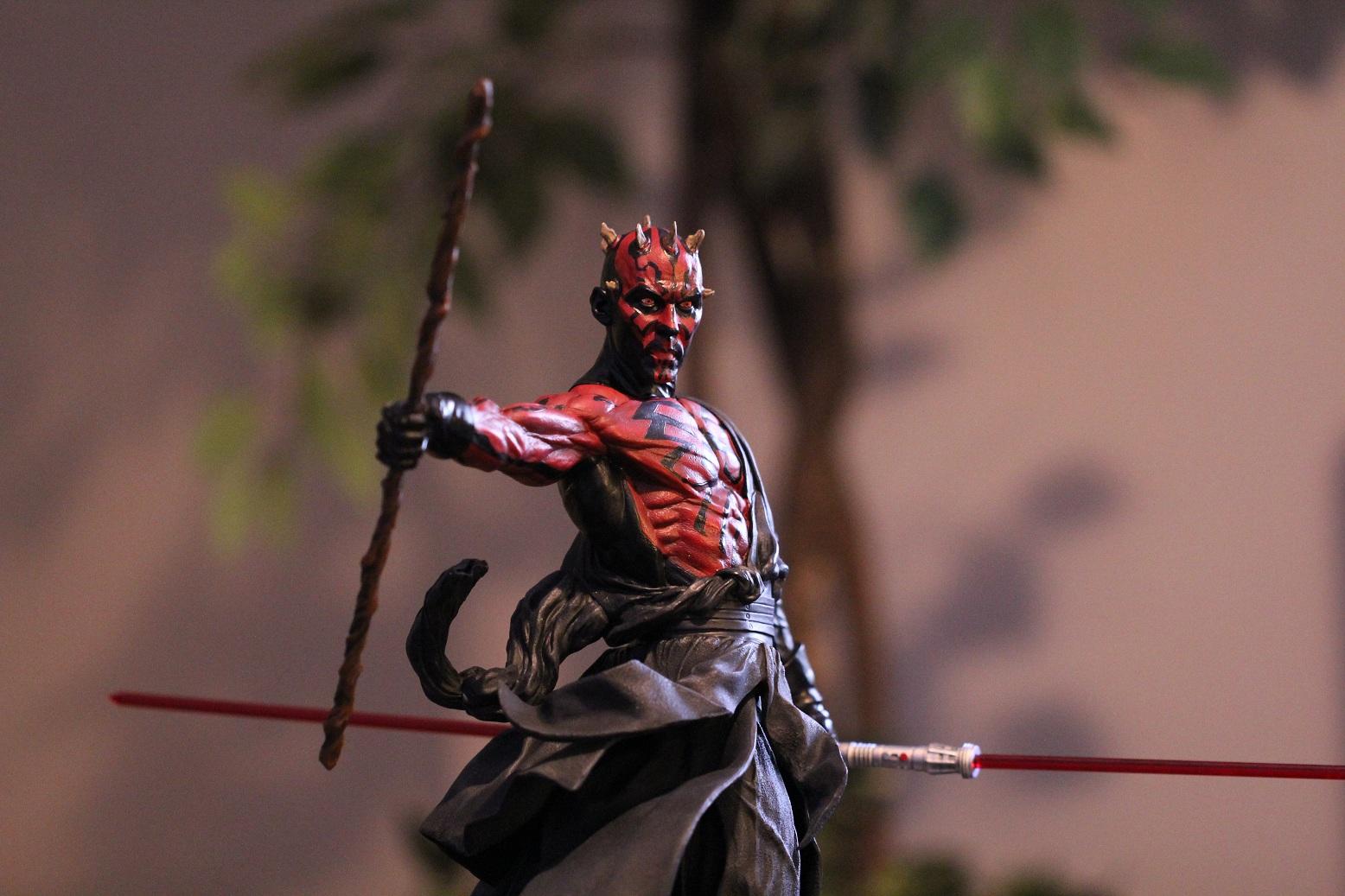 STAR WARS: DARTH MAUL Mythos statue Darth1
