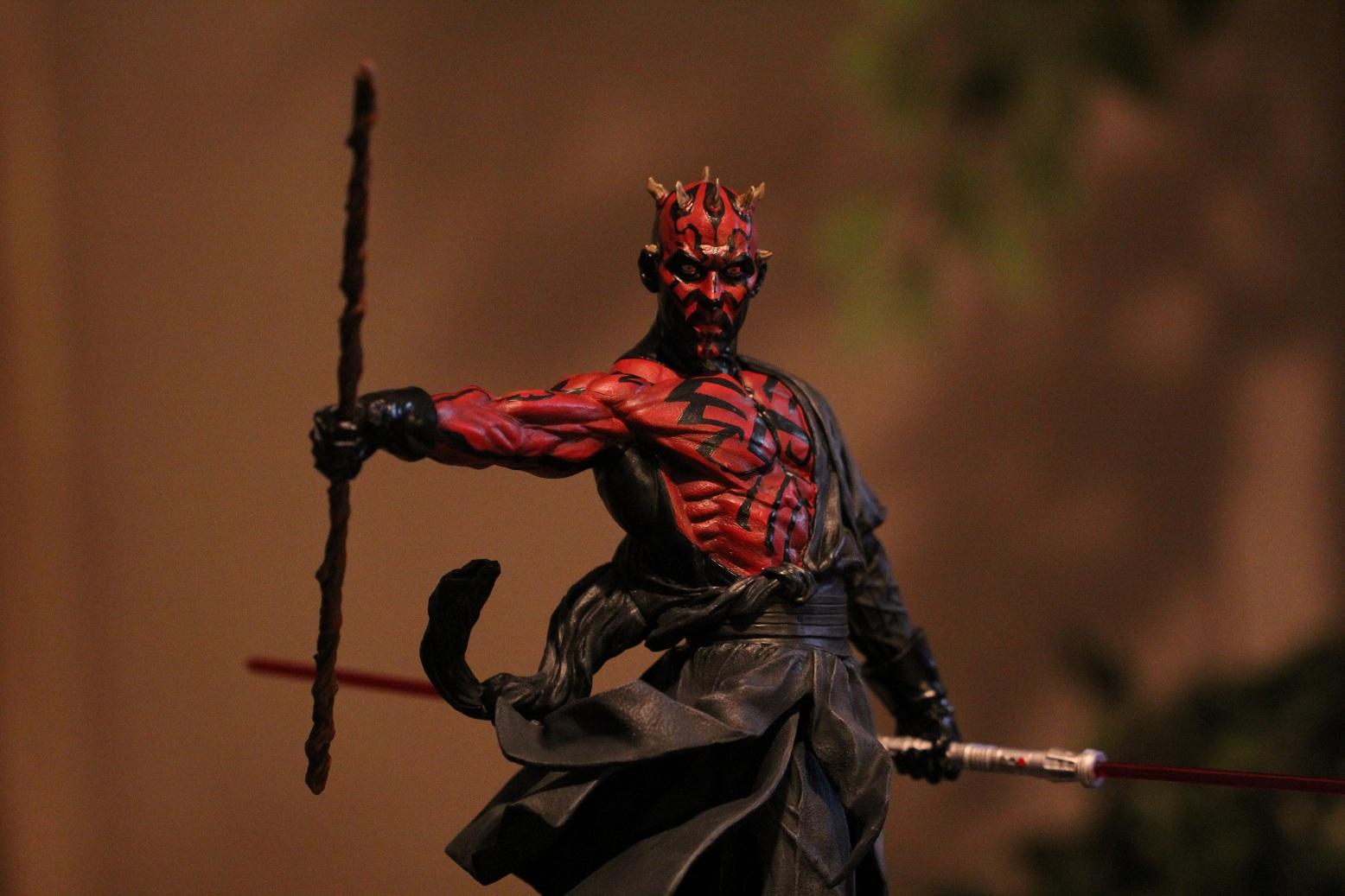 STAR WARS: DARTH MAUL Mythos statue Darth4