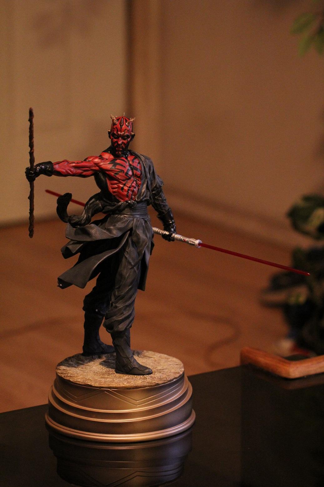 STAR WARS: DARTH MAUL Mythos statue Darth5