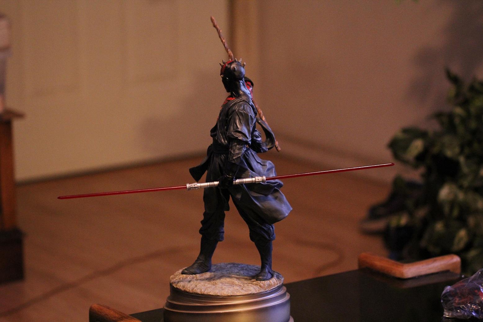 STAR WARS: DARTH MAUL Mythos statue Darth8