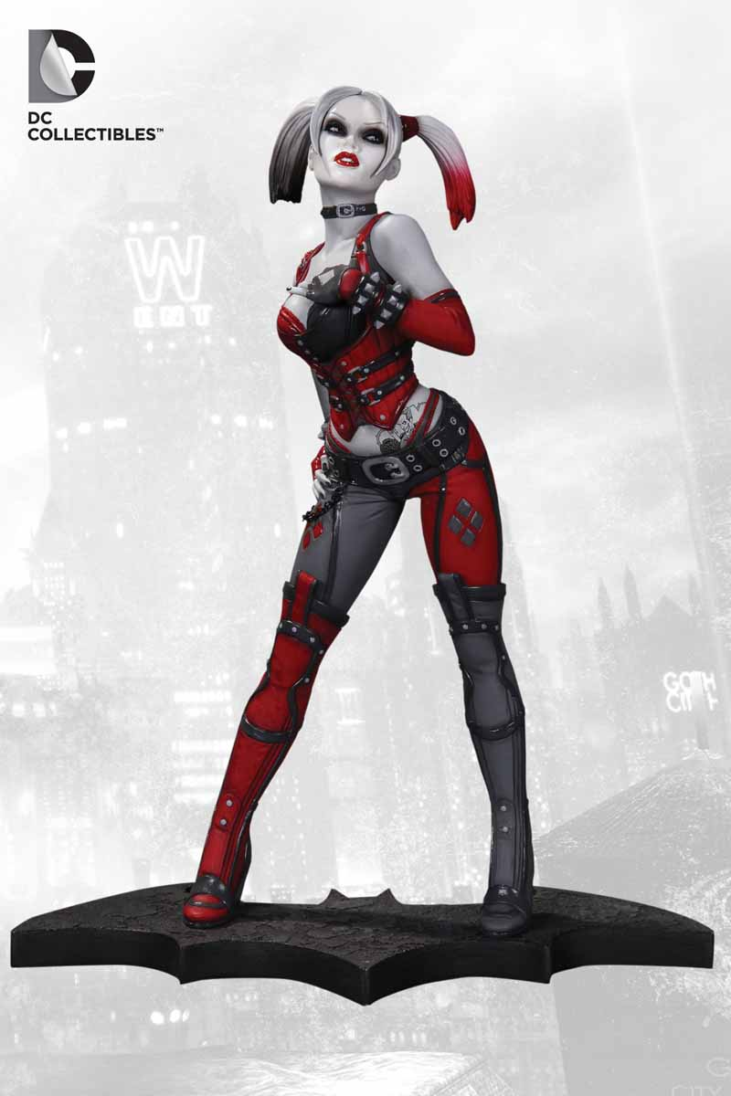Batman: Arkham City - Harley Quinn Statue Arkham_Statues_HQ_1