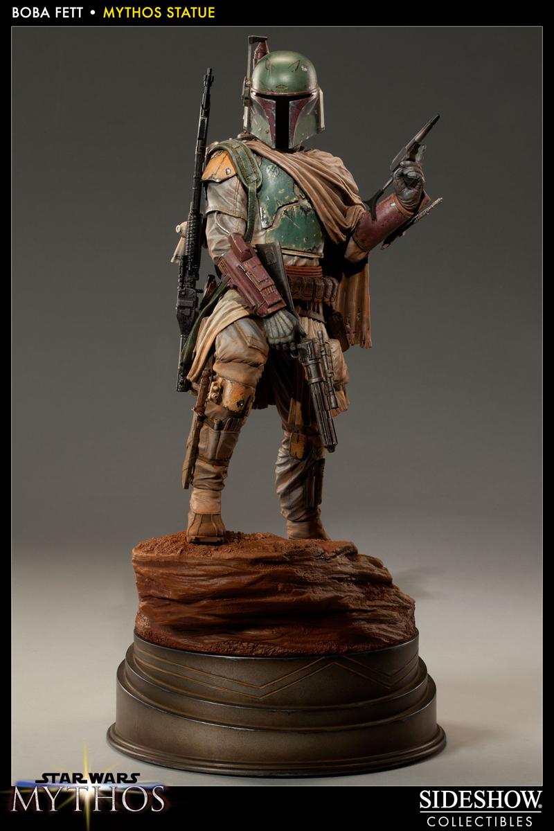 STAR WARS: BOBA FETT Mythos statue 200158_press01