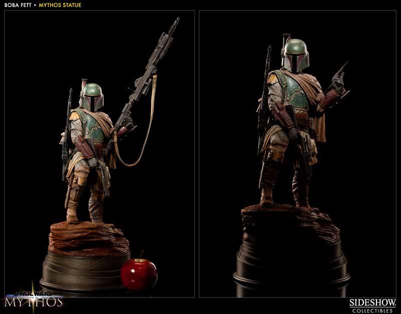STAR WARS: BOBA FETT Mythos statue 200158_press03