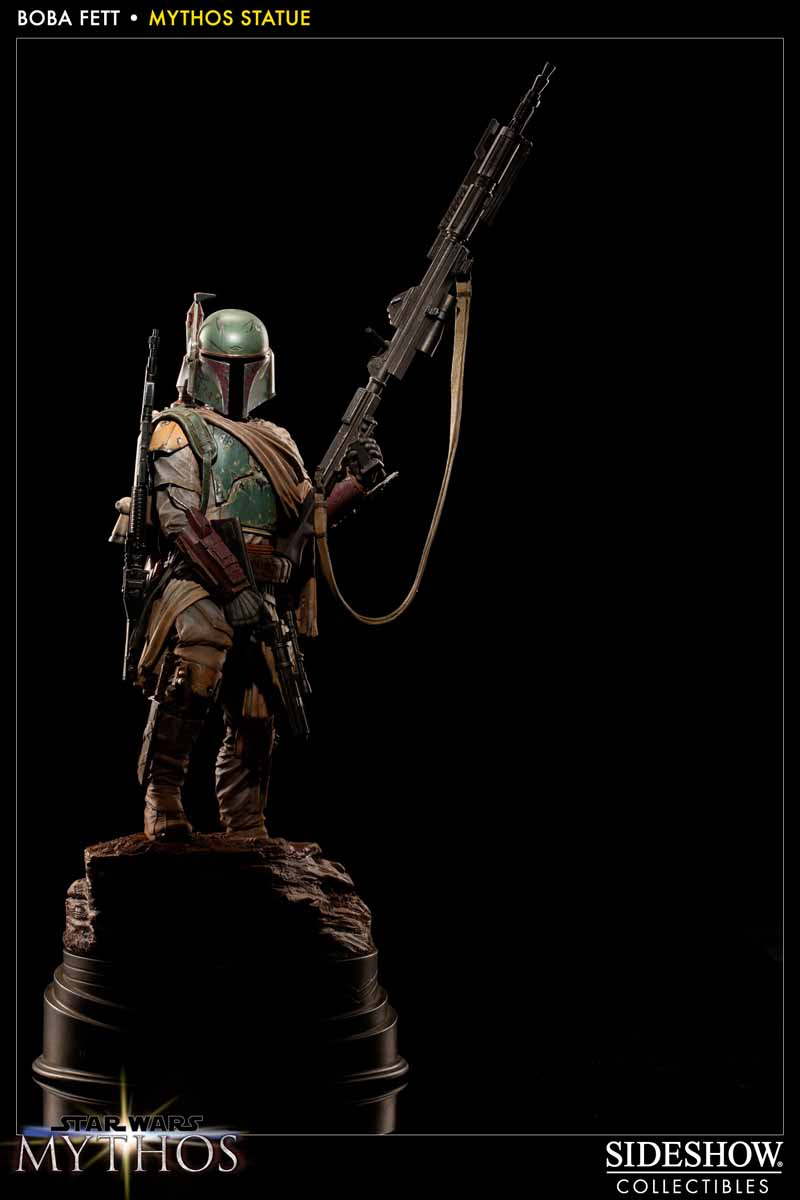 STAR WARS: BOBA FETT Mythos statue 200158_press04