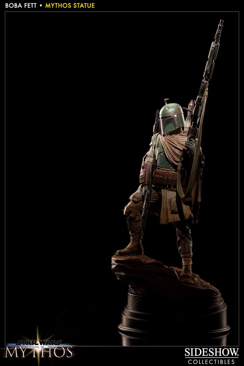 STAR WARS: BOBA FETT Mythos statue 200158_press05