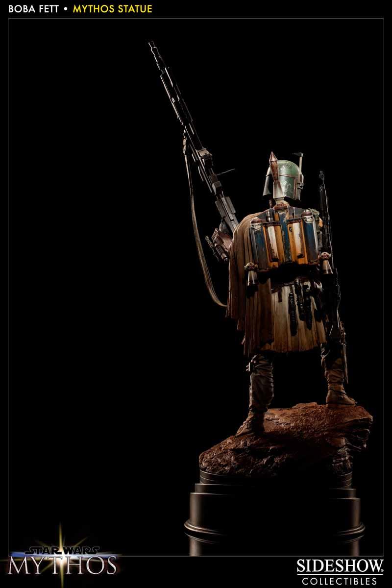 STAR WARS: BOBA FETT Mythos statue 200158_press06