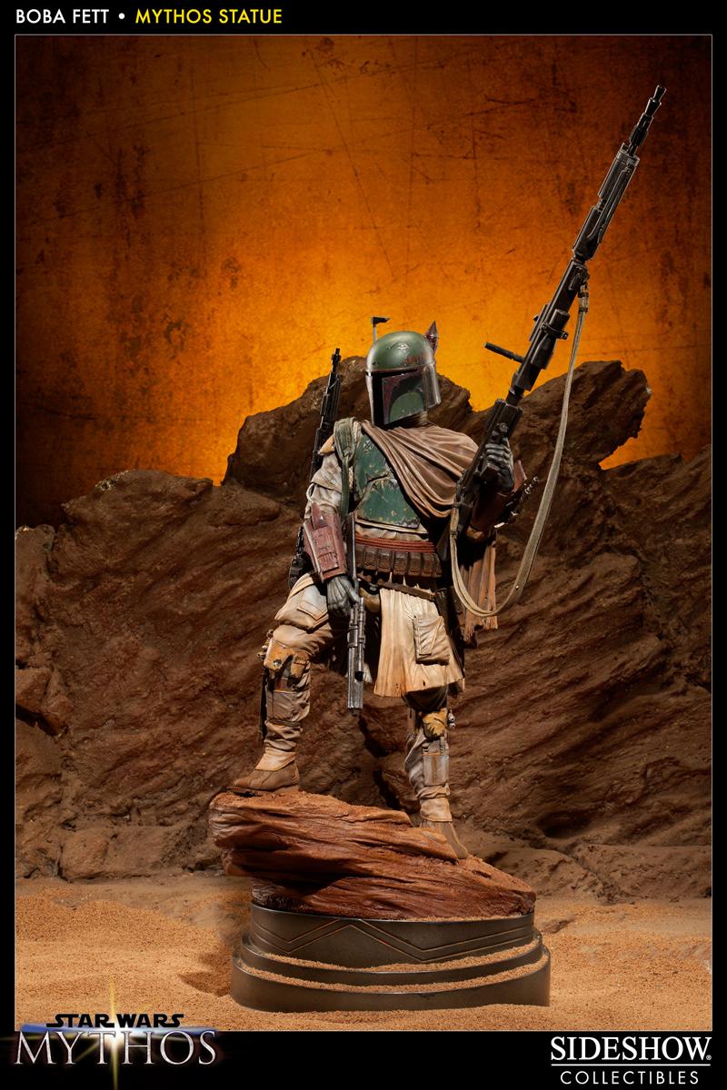 STAR WARS: BOBA FETT Mythos statue 200158_press14b
