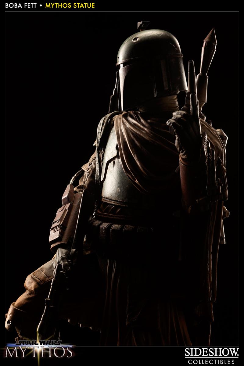 STAR WARS: BOBA FETT Mythos statue 200158_press15b
