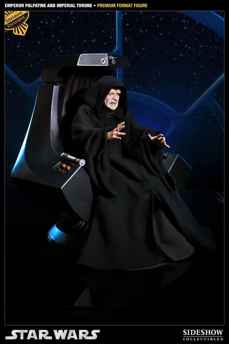 STAR WARS: EMPEROR PALPATINE ON THRONE Premium format 3000521_press01