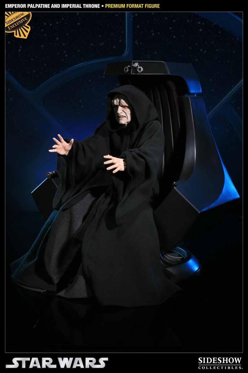 STAR WARS: EMPEROR PALPATINE ON THRONE Premium format 3000521_press02