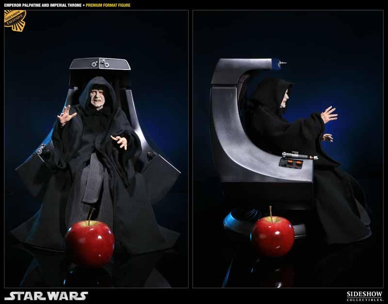 STAR WARS: EMPEROR PALPATINE ON THRONE Premium format 3000521_press03
