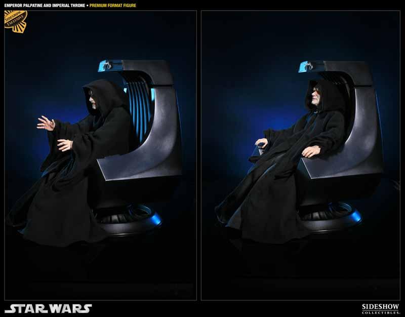 STAR WARS: EMPEROR PALPATINE ON THRONE Premium format 3000521_press04