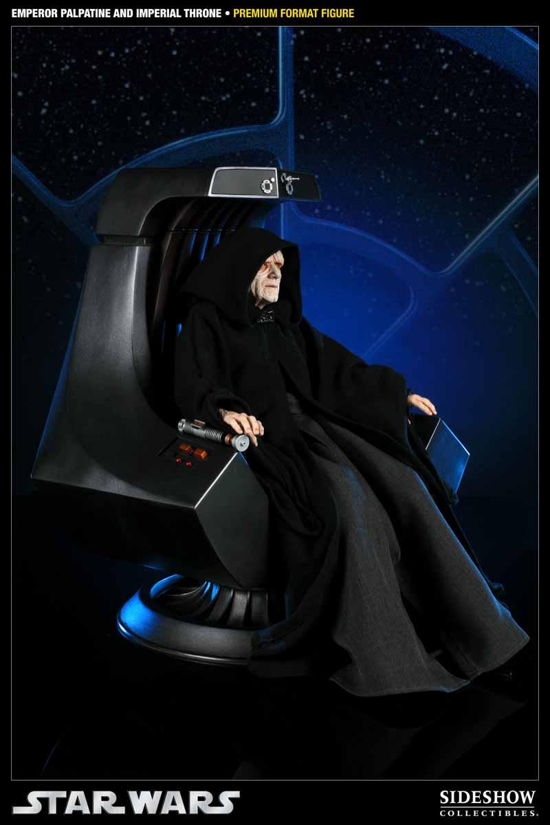 STAR WARS: EMPEROR PALPATINE ON THRONE Premium format 300052_press01