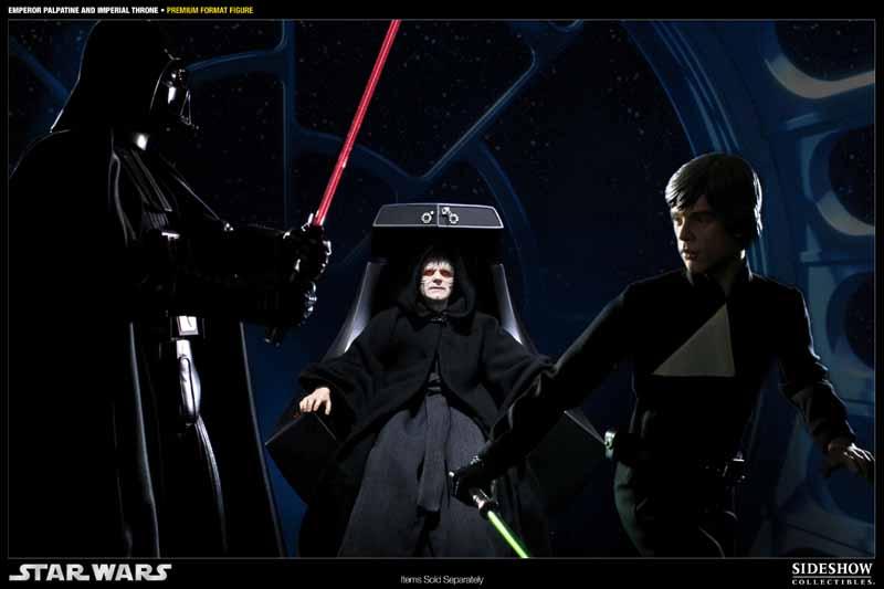 STAR WARS: EMPEROR PALPATINE ON THRONE Premium format 300052_press05