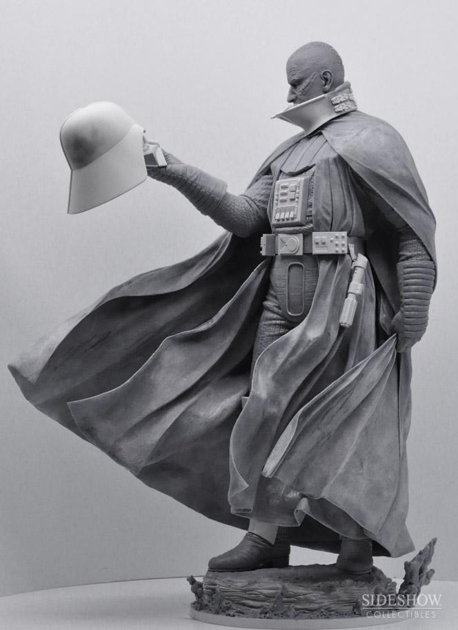 STAR WARS; DARTH VADER Mythos statue SWMythos_DarthVader_WIP3