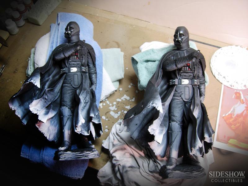 STAR WARS; DARTH VADER Mythos statue SWMythos_DarthVader_WIP7