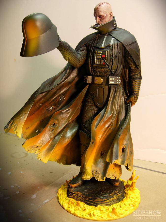 STAR WARS; DARTH VADER Mythos statue SWMythos_DarthVader_WIP9