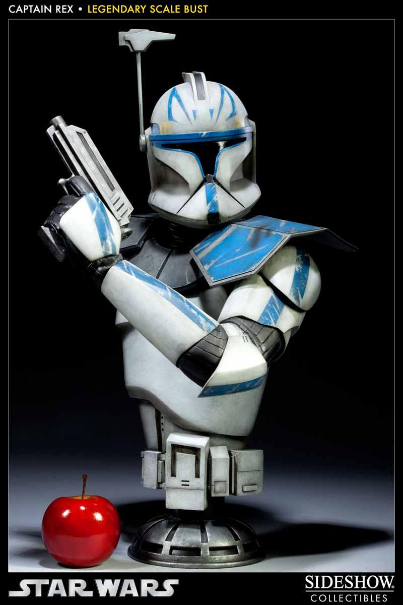 STAR WARS: CAPTAIN REX Legendary scale bust 200148_press04