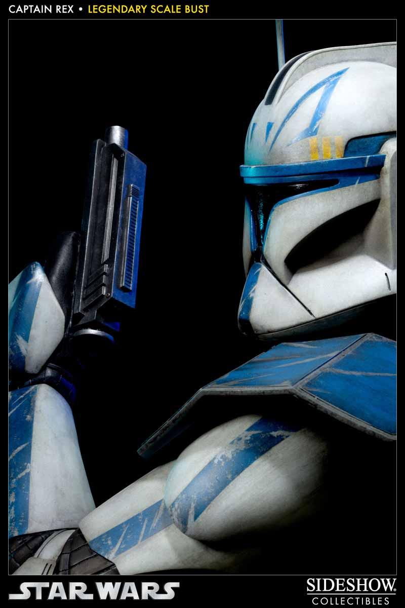 STAR WARS: CAPTAIN REX Legendary scale bust 200148_press07