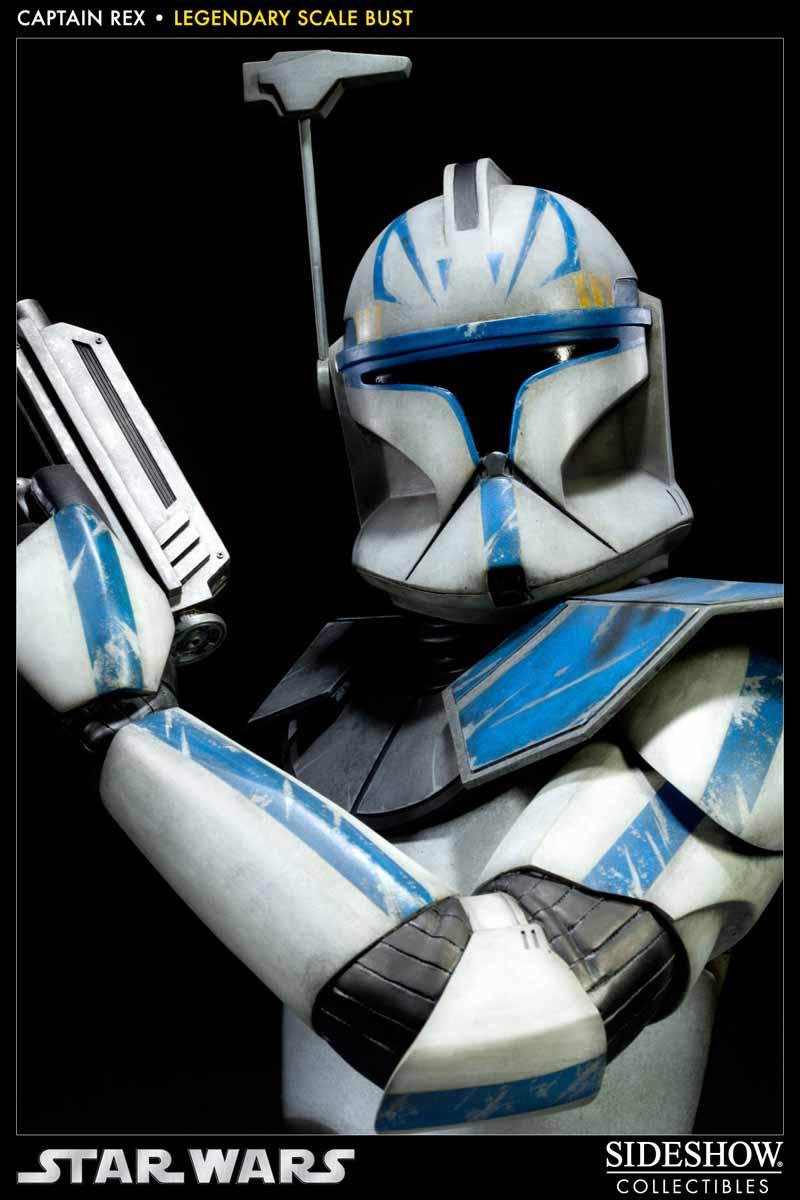 STAR WARS: CAPTAIN REX Legendary scale bust 200148_press08