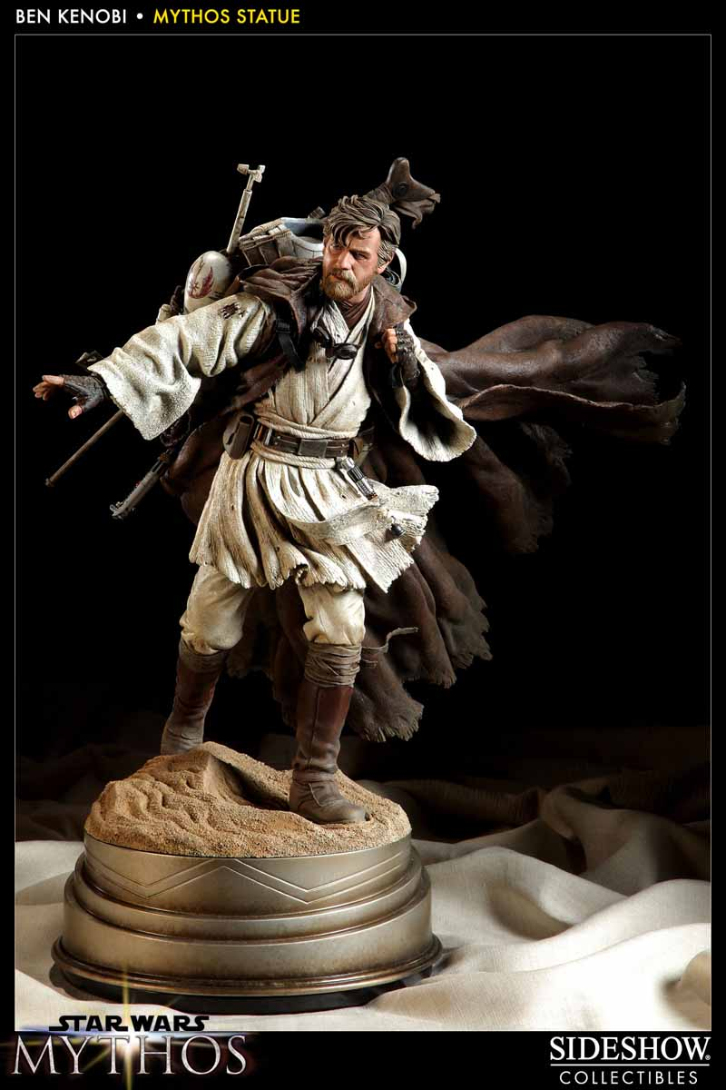 STAR WARS: BEN KENOBI Mythos statue  200108_press01