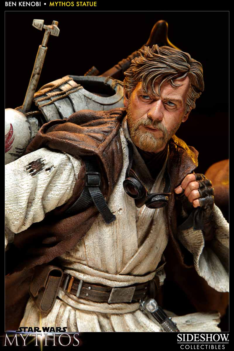 STAR WARS: BEN KENOBI Mythos statue  200108_press02
