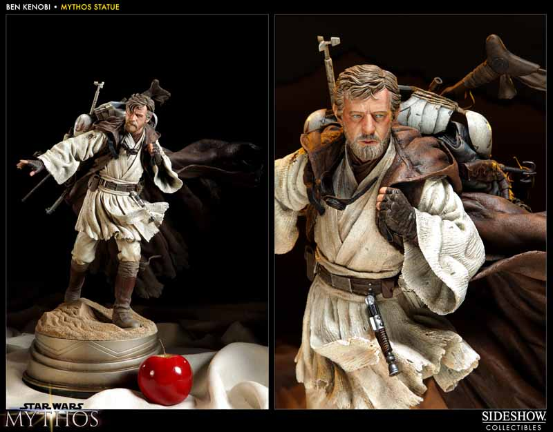 STAR WARS: BEN KENOBI Mythos statue  200108_press03