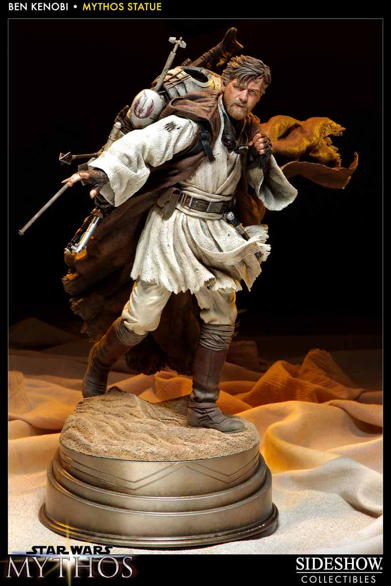 STAR WARS: BEN KENOBI Mythos statue  200108_press07