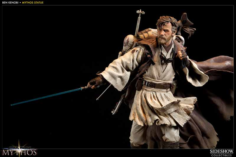 STAR WARS: BEN KENOBI Mythos statue  200108_press10