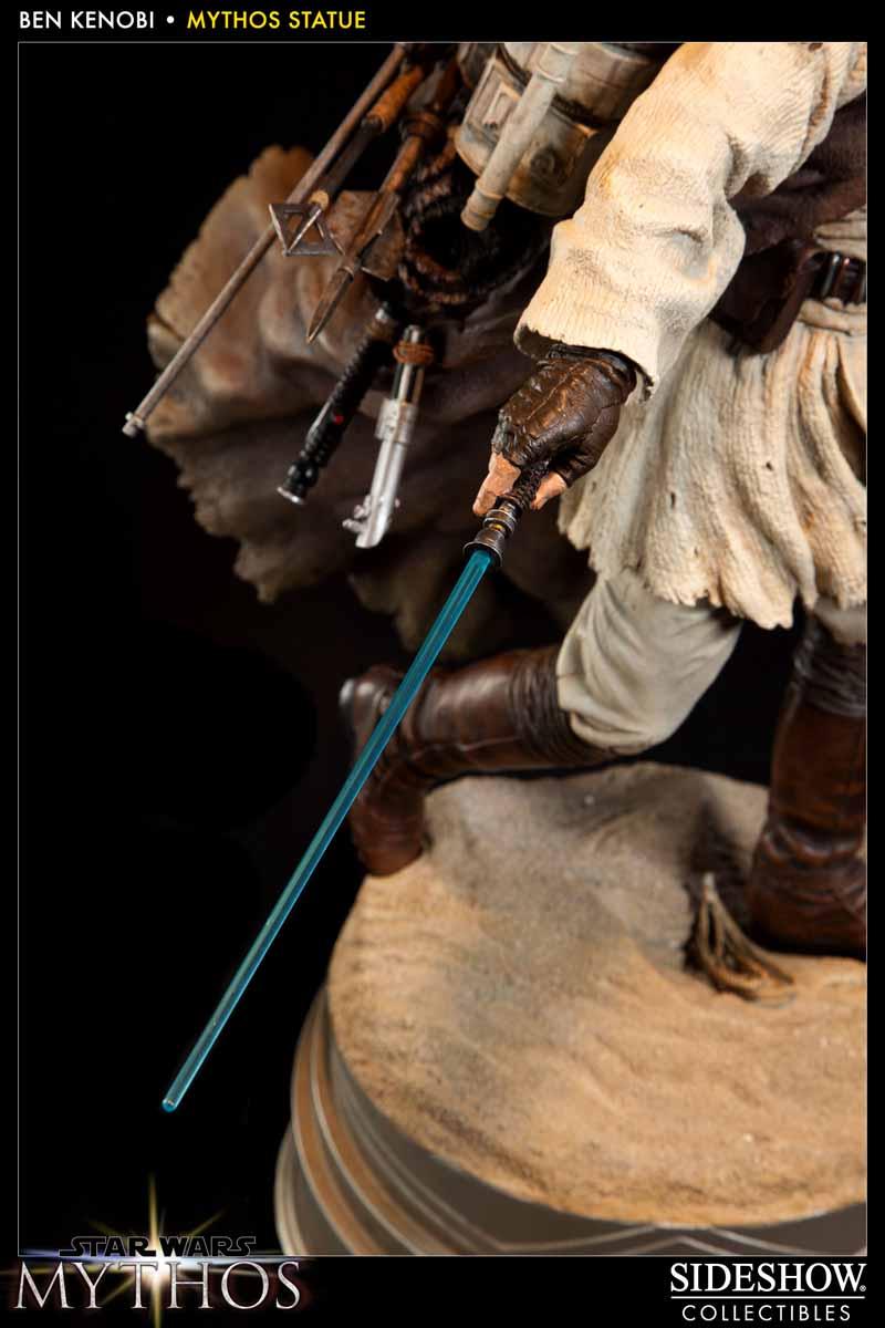 STAR WARS: BEN KENOBI Mythos statue  200108_press11