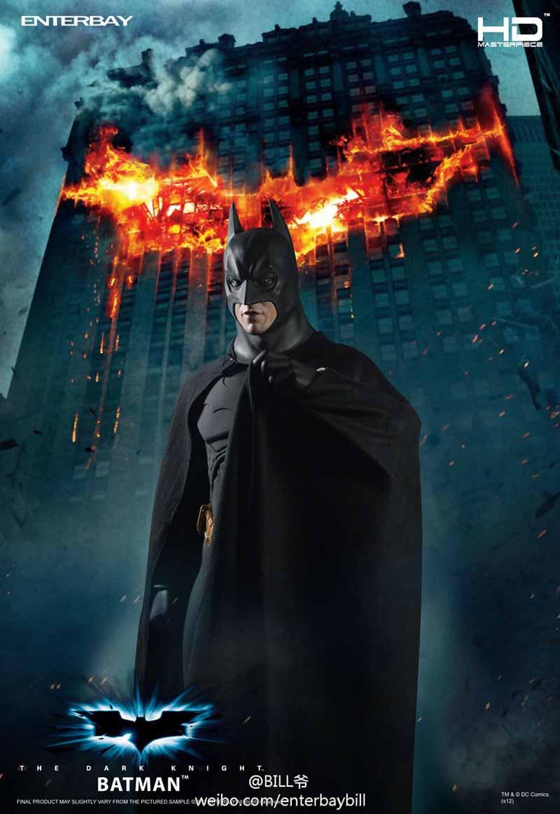 "BATMAN ""THE DARK KNIGHT"" : ENTERBAY -  1/4 SCALE 1"