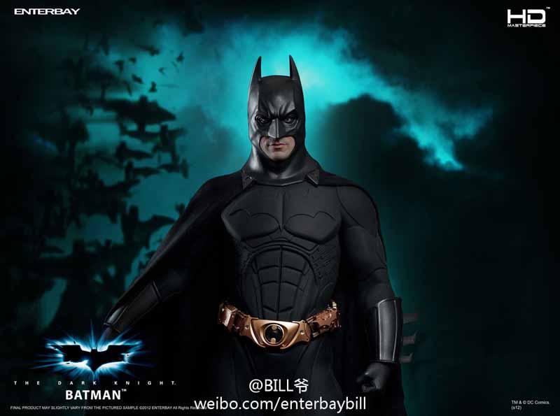 "BATMAN ""THE DARK KNIGHT"" : ENTERBAY -  1/4 SCALE 10"