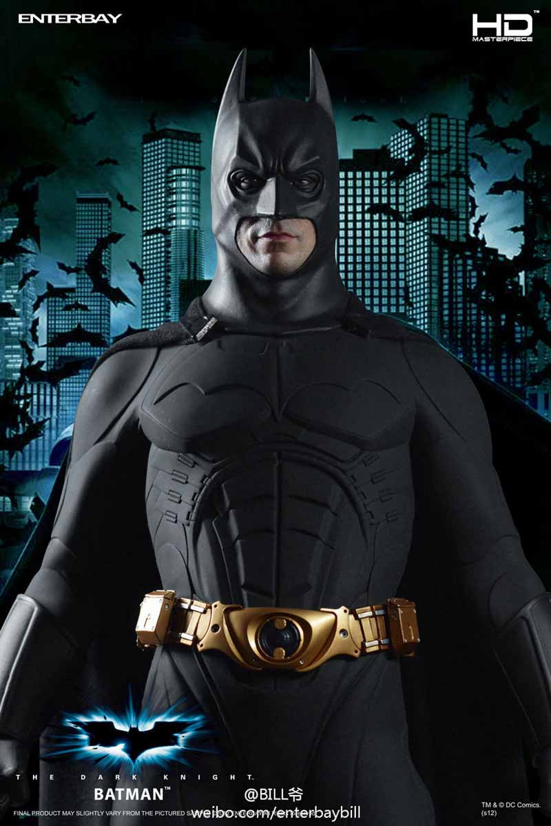 "BATMAN ""THE DARK KNIGHT"" : ENTERBAY -  1/4 SCALE 2"