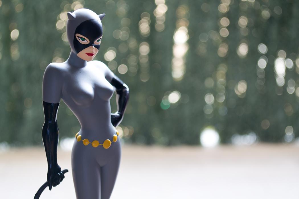 DC COMICS CLASSIC ANIMATION SERIES: BATMAN THE ANIMATED SERIES: CATWOMAN Maquette DSC_1711