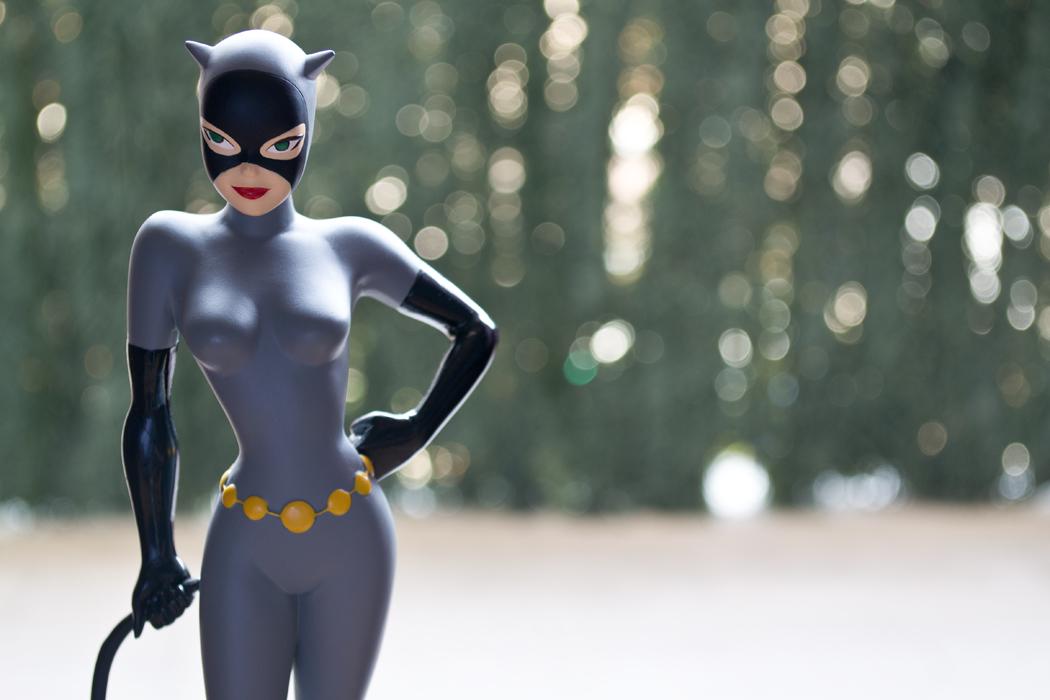 DC COMICS CLASSIC ANIMATION SERIES: BATMAN THE ANIMATED SERIES: CATWOMAN Maquette DSC_1712