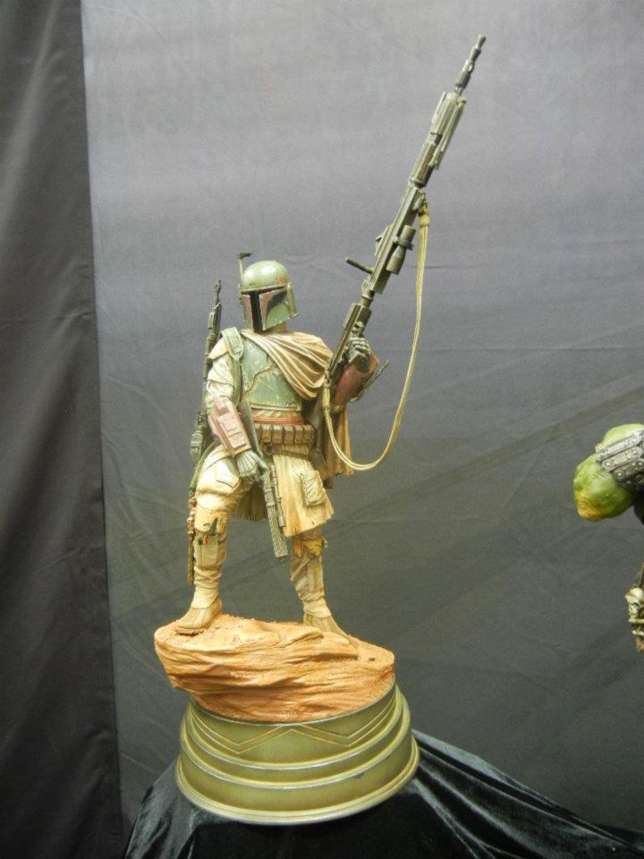 STAR WARS: BOBA FETT Mythos statue 483225_479091628786013_725363568_n