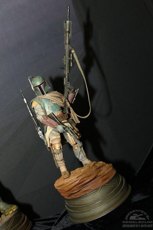 STAR WARS: BOBA FETT Mythos statue Boba2