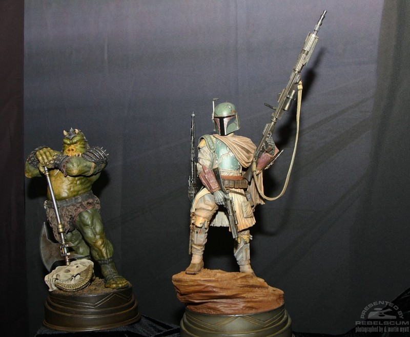 STAR WARS: BOBA FETT Mythos statue Bobaj