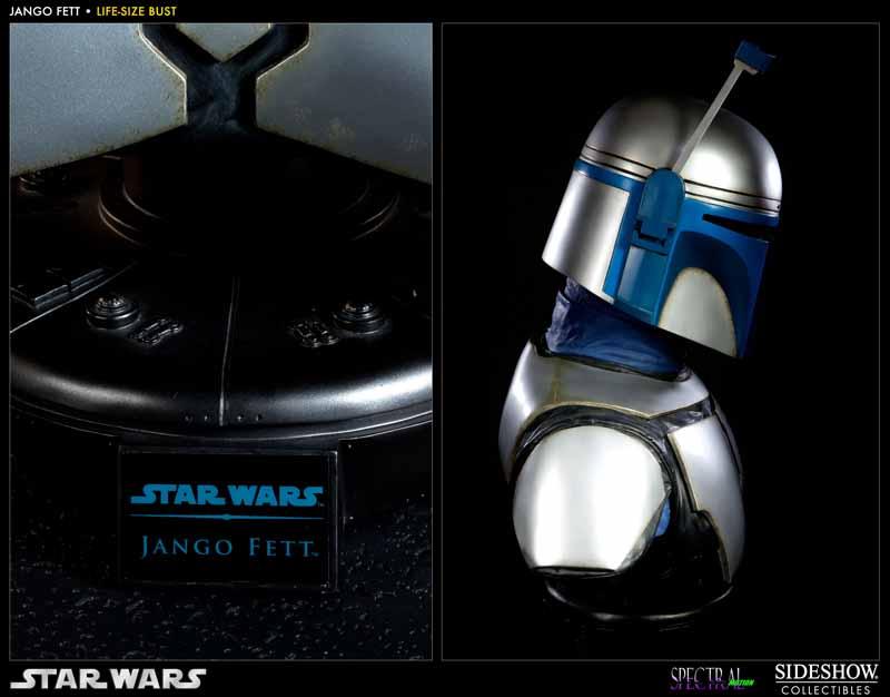 STAR WARS: JANGO FETT Life size bust 400120_press03