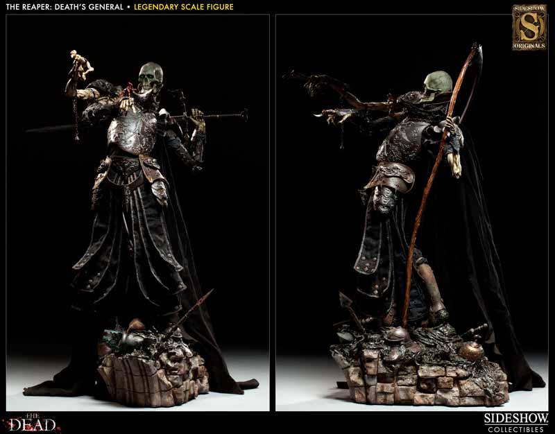 COURT OF THE DEAD: DEATH'S GENERAL Legendary scale figure 7213_press03