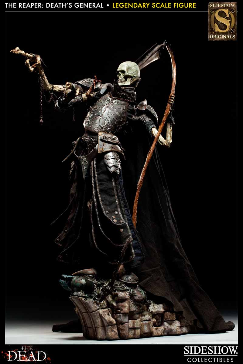 COURT OF THE DEAD: DEATH'S GENERAL Legendary scale figure 7213_press09