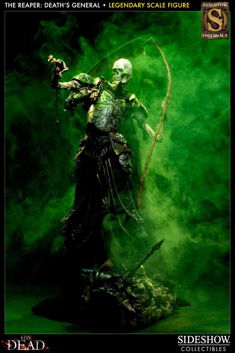 COURT OF THE DEAD: DEATH'S GENERAL Legendary scale figure 7213_press10