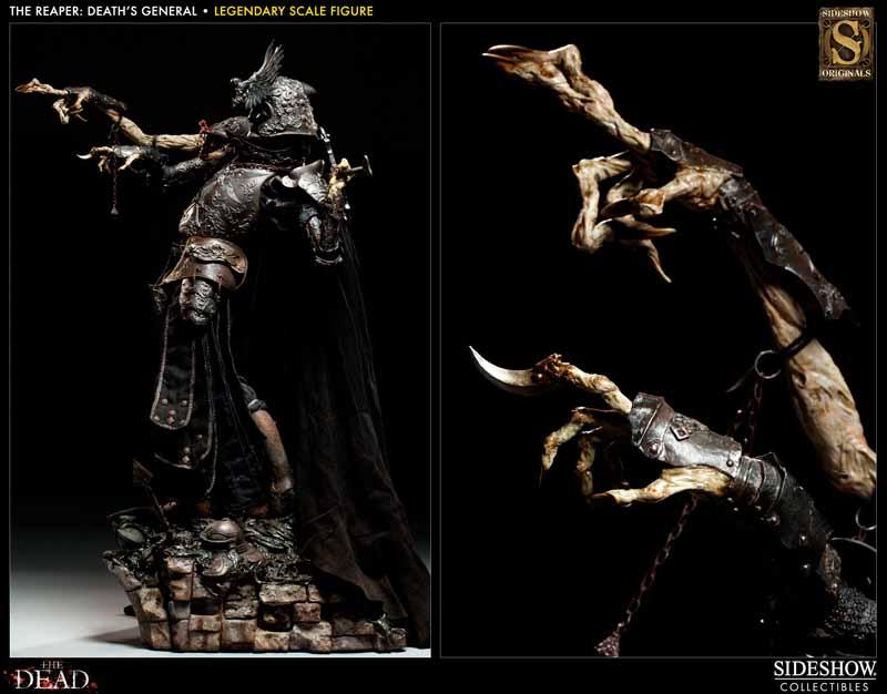 COURT OF THE DEAD: DEATH'S GENERAL Legendary scale figure 7213_press13