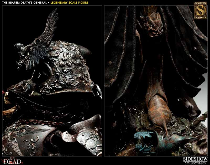 COURT OF THE DEAD: DEATH'S GENERAL Legendary scale figure 7213_press15